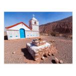 Postal, Iglesia San Isidro, Atacama, Chile Tarjeta Postal