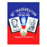 Postal inaugural de JFK