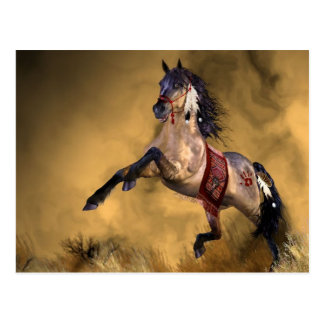 Postal india del caballo