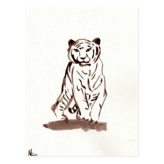 Postal inminente del tigre