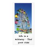 Postal intermediaria tarjetas personales con fotos