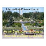 Postal internacional de Dakota del Norte del jardí