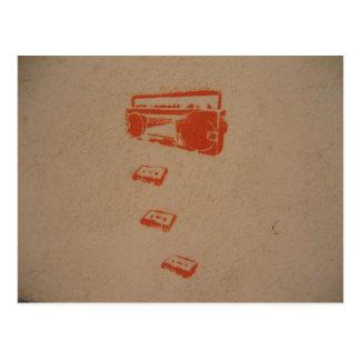 Postal internacional de la pintada