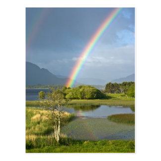 Postal irlandesa del arco iris