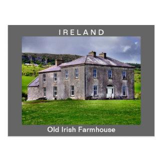Postal irlandesa vieja del cortijo