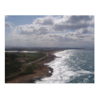 postal israelí de la playa