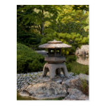Postal japonesa del jardín