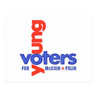 Postal JOVEN de los VOTANTES
