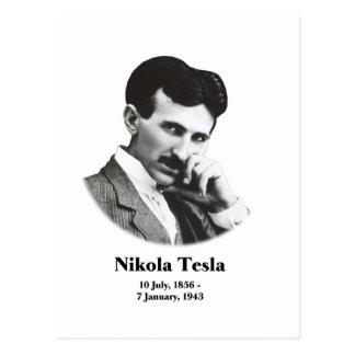 Postal joven de Tesla