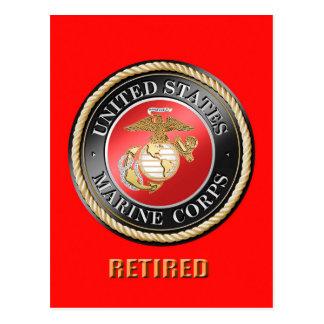 Postal jubilada USMC