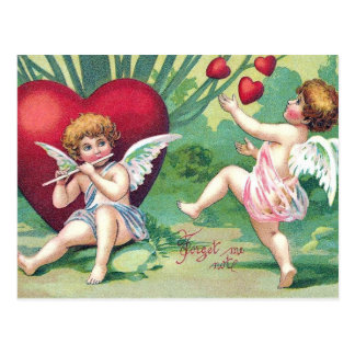 Postal juguetona de la tarjeta del día de San