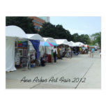 Postal justa 2012 del arte de Ann Arbor