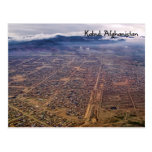 Postal:  Kabul desde arriba
