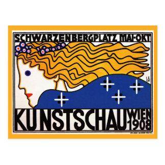 Postal: Kunstschau Wien por Loffler Tarjeta Postal