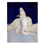 Postal: La doncella de la nieve