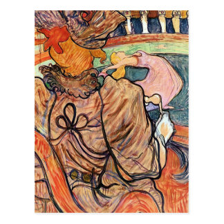 Postal:   Lautrec - arte francés - Nouveau Cirque