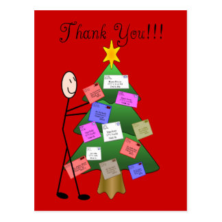 Postal Letter Carrier Thank You Cards Post Card