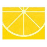 Postal linda del limón