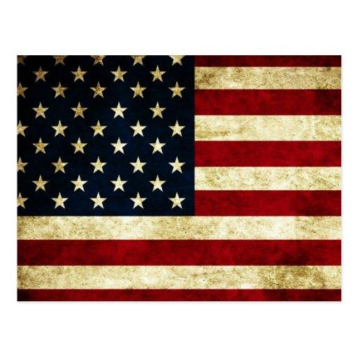 postal, los E.E.U.U., bandera