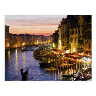 Postal mágica de Venecia