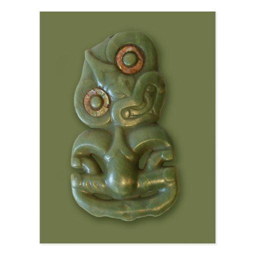 Postal maorí de Hei-Tiki