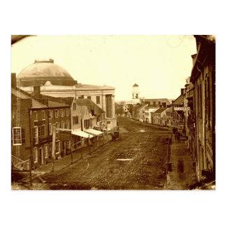 Postal media 1846 de la calle de Portland, Maine