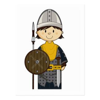 Postal medieval del caballero