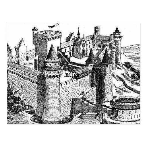 Postal medieval del castillo