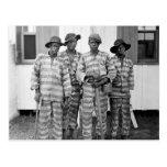 Postal meridional de la cuadrilla de presos 1900
