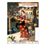 Postal: Mes de septiembre - Septembre