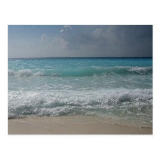 Postal mexicana de la playa