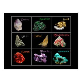 Postal mineral de la colección