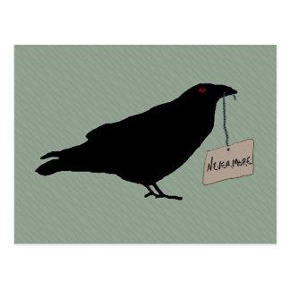 Postal misteriosa del cuervo