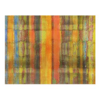 Postal moderna del arte abstracto