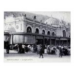 Postal, Monte Carlo, café de París
