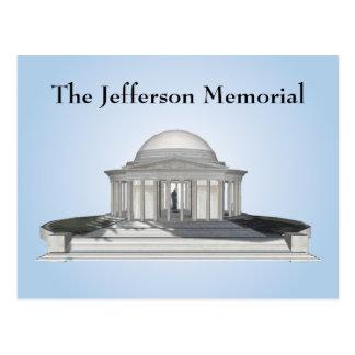 Postal: Monumento de Jefferson Tarjetas Postales