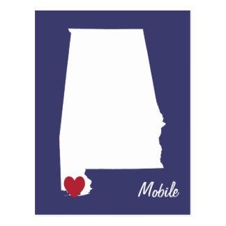 Postal móvil de Alabama