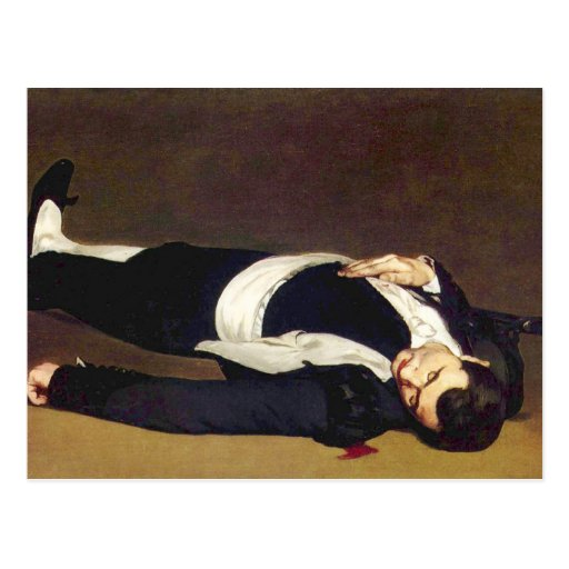 Postal muerta de Manet Matador