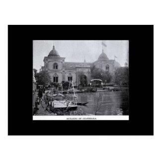 Postal-Mundos Justos-Buidling de Guatemala