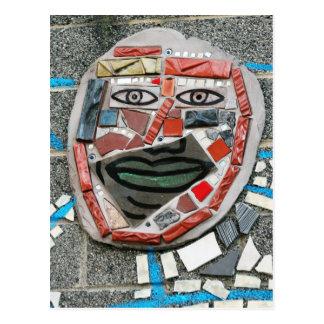 Postal mural de la cara de Passayunk