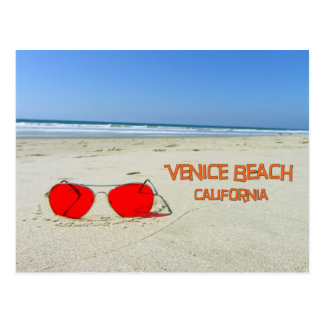 ¡Postal muy enrrollada de la playa de Venecia!