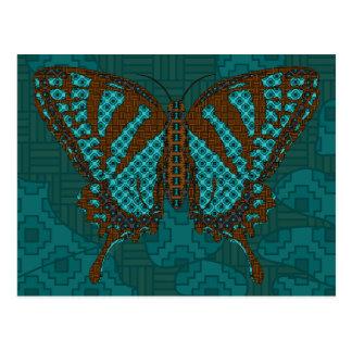 Postal nativa de Swallowtail