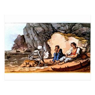 Postal naufragada de los marineros y de la muerte