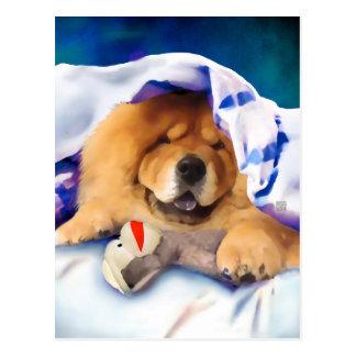 Postal NEA del perro chino del heARTdog