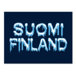 Postal Nevado Finlandia, personalizar