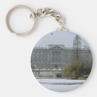 Postal No.7 del Buckingham Palace Llavero Redondo Tipo Pin
