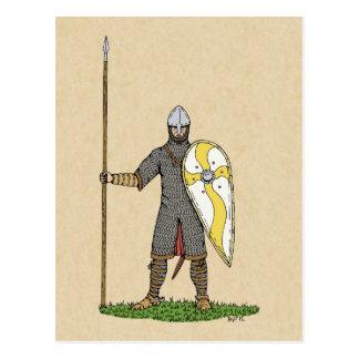 Postal normanda del caballero