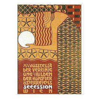 Postal: Objeto expuesto del arte -14th Viena de la Tarjeta Postal