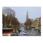 Postal occidental de Holanda de la iglesia de Amst