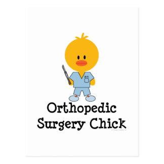 Postal ortopédica del polluelo de la cirugía